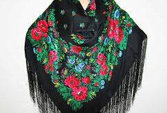 تجارت اینترنتی روسری سنتی ترکمن