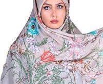 خرید پستی روسری گلدار