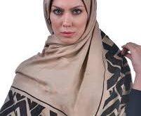 قیمت فروش روسری نخی ساده