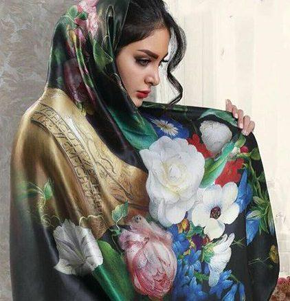 انواع مدل جدید روسری