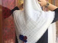 انواع روسری سفید