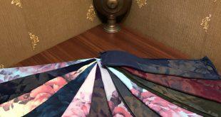 انواع شال رنگی