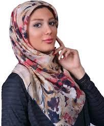 روسری حریر نخ