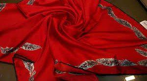 روسری ابریشم اصل