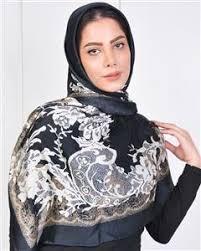 روسری مجلسی ابریشم
