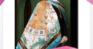 روسری پاییزه قواره بزرگ