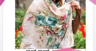 فروش روسری طرح دار ابریشمی