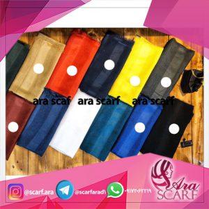 انواع شال تک رنگ