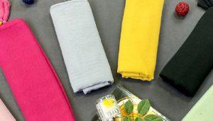 فروش روسری های رنگی