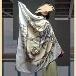 روسری های ساتن مجلسی